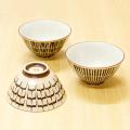 【和食器通販ショップ 藍土な休日】 重山陶器 波佐見焼 ナチュラル お茶碗 コップ 湯呑 ブラウン