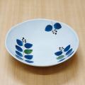 【和食器通販ショップ藍土な休日】 波佐見焼 康創窯 浅鉢 ボウル テーブルコーディネート