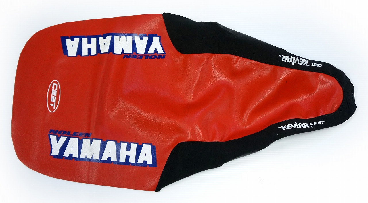 NOLEEN 1993-95 YZ125/250 '95 シートカバー(レッド)☆NOLEEN 1993-95 YZ125/250 '95 Seat cover (Red)