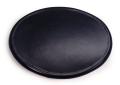 ユニバーサル ミニ オーバルナンバープレート(ブラック)