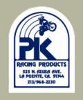PK Racing デカール