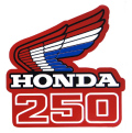 1985-87 Honda CR250 シュラウドデカール(PR)