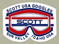 Scott Goggle Sun Valley デカール