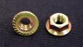 フランジナット(セレーション付) M8 (クロメート/ピッチ1.25)