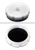1974-76 KX タンクキャップ(白)☆1974-76 KX tank cap(white)