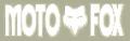 Moto-X Fox Die Cutデカール(ホワイト)