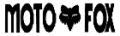 Moto-X Fox Die Cutデカール(ブラック)