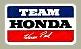 Team Hondaデカール(Warren Reid)