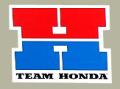 "Team Honda ""H"" デカール(スモール)"