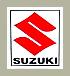 """Suzuki """"S"""" デカール"""