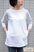【ポイント10%】【再入荷しました!】【送料無料】Dana Faneuil ムラ糸チュニック(全3色2サイズ)
