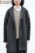 【送料無料】圧縮ウールワイドコート(全2色)