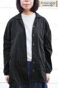 【ポイント10%】【送料無料】度詰め天竺 ロングシャツ(全2色)