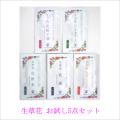 日本豊受自然農 生草花化粧品お試し5点セット