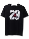LK990 【メール便対応】 キッズ Jordan ジョーダン Tシャツ 黒白赤