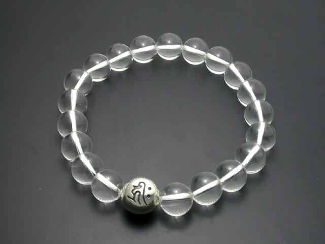 守護梵字・数珠ブレス・水晶