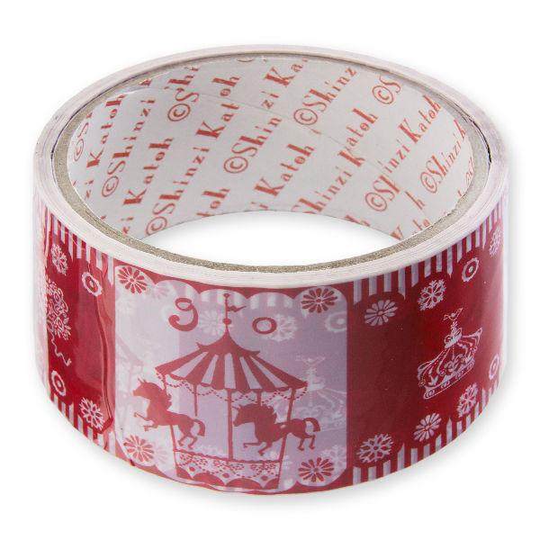 Shinzi Katoh(シンジ カトウ) メリーゴーランドの幅広OPPテープ