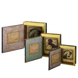 《限定2点》PUNCH STUDIO 書籍型小物入れBOOKBOX <3点セット>