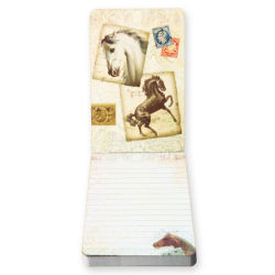 PUNCH STUDIO(パンチスタジオ) フリップ馬柄メモパッド (4デザイン100枚綴)