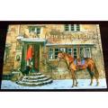 英国乗馬協会クリスマスカード〜THE HORSE & HOUND INN