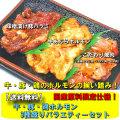 【送料無料】牛・豚・鶏ホルモン3種盛りバラエティーセット【B級グルメ】【バーベキュー】【焼肉】