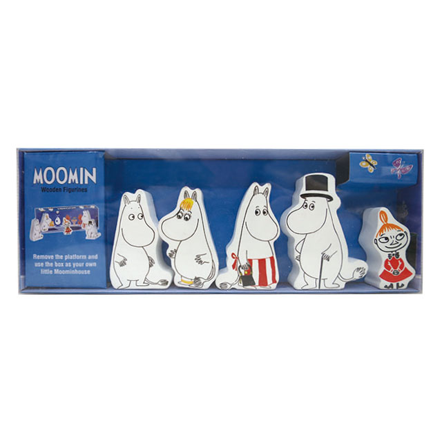Moomin Barbo Toys -  ムーミン バルボトイズ 木製人形5個セット