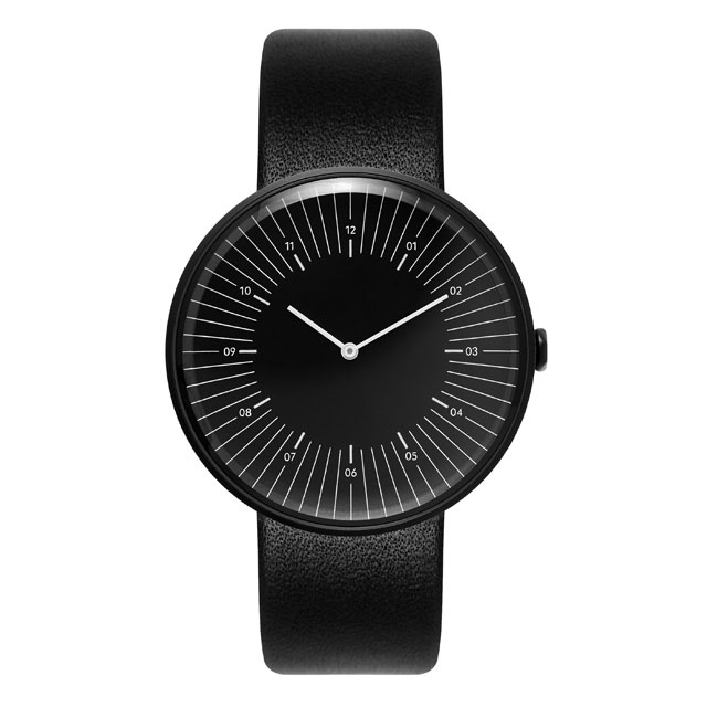 NEW! Nomad watches - ノマド 腕時計 OUTLINE BLACK / BLACK / BLACK