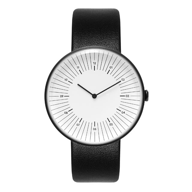 NEW! Nomad watches - ノマド 腕時計 OUTLINE BLACK / WHITE / BLACK