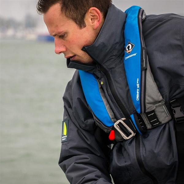 CREWSAVER CREWFIT165N Sport 自動膨張式ライフジャケット