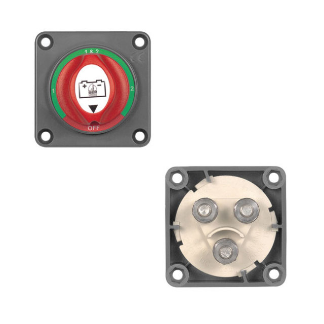 【BEP】MINI バッテリースイッチ 701SPM 1-2-BOTH-OFF
