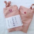 【絹〜シルクふんどしパンツ】つやごろも(ピンク)×スワロdeco『メール便可』