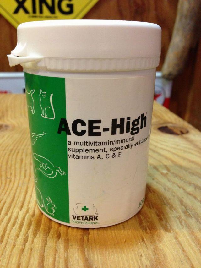 (飼育用品・サプリメント)ACE-HIGH(エースハイ) 50g