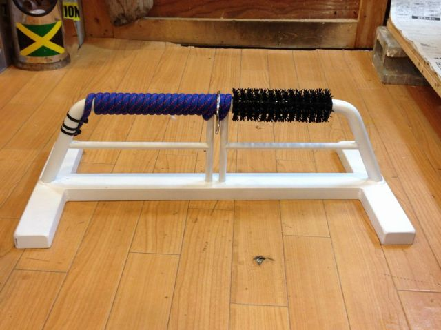 OWLパーチ 鉄製 半ロープ仕様 Mサイズ ホワイト