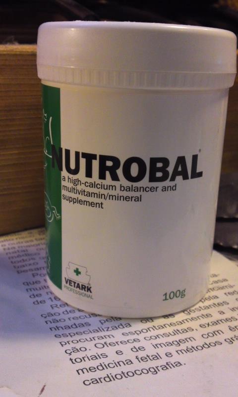 (飼育用品・サプリメント)NUTROBAL(ニュートロバル) 100g