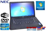 15.6���磻�� ��ťΡ��ȥѥ����� NEC VersaPro VK24L/A-F Corei3 3110M(2.4GHz) ����2G HDD320G ̵��LAN DVD-ROM Windows7 64bit