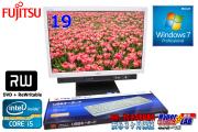 19���磻�ɱվ����η��ѥ����� �ٻ��� ESPRIMO K552/D Core i5-2520M (2.50GHz) ���ꣲGB HDD320GB �ޥ�� Windows7