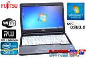 13.3����Х���Ρ��ȥѥ����� �ٻ��� LIFEBOOK S762/E Core i5 3320M(2.60GHz) ����4G DVD�ޥ�� ̵��LAN USB3.0 Windows7