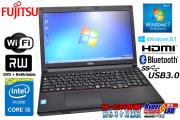 ����8G Windows7 64bit �ٻ��̥Ρ��ȥѥ����� LIFEBOOK A574/HX Core i5 4300M(2.60GHz) DVD�ޥ�� ̵��LAN USB3.0 Bluetooth Windows8.1 �ꥫ�Х���