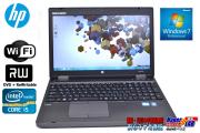 �ե륵���������ܡ������ ��ťΡ��ȥѥ����� HP ProBook 6560b Core i5-2540M(2.60GHz) ����2G 500GB �ޥ�� ̵��LAN Windows7