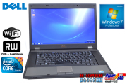 Windows7 �Ρ��ȥѥ����� DELL Latitude E5510 2����/4����å� Core i5 520M(2.40GHz) ����2G DVD�ޥ�� ̵��LAN 15.6�������