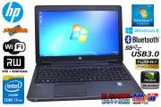 ��ť�Х��������ơ������ HP Z Book 15 Core i7 4800MQ(2.70GHz)  Windows7 64bit ����16G DVD�ޥ�� ̵��LAN Bluetooth USB3.0