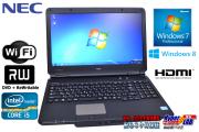 Windows7/8 ��ťΡ��ȥѥ����� NEC VersaPro VK25T/X-F Corei5 3210M(2.5GHz) ����4G WiFi �ޥ��