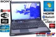 Radeon��� ��ťΡ��ȥѥ����� ���ˡ� Vaio C���꡼�� VPCCB4AJ Core i5 2450M(2.50GHz) ����4G �ޥ�� WiFi ����� Windows7 64bit