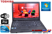 ����8GB��� ��ťΡ��ȥѥ����� ��� dynabook Satellite B650/B Core i7 640M(2.8GHz) WiFi �ޥ�� Windows7 64bit 15.6���磻��HD+