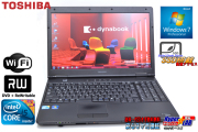 SSD��ܥΡ��ȥѥ����� TOSHIBA dynabook Satellite L47 266E/HD Core i5 560M(2.66GHz) ����4G WiFi �ޥ�� 15.6���վ� Windows7 64bit
