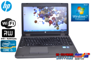 �ե륵���������ܡ������ ��ťΡ��ȥѥ����� HP ProBook 6560b Core i5-2540M(2.60GHz) ����3G HDD320GB �ޥ�� WiFi Windows7