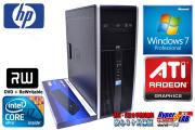 Windows7 64bit タワー型 中古パソコン HP 8100 Elite 4コア8スレッド Core i7(2.93GHz) メモリ4G HDD500GB マルチ RADEON