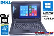 Windows10 14.0型 中古ノートパソコン DELL Latitude E6440 Core i5 4310M(2.70GHz) メモリ4G HDD320G マルチ WiFi USB3.0
