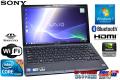 ��ťΡ��ȥѥ����� ���ˡ� Vaio Z����� VPCZ14AGJD Core i5  480M(2.66GHz) ����4G GeForceGT Windows7 64bit