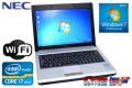 ����ǽ ���̥�Х���Ρ��ȥѥ����� NEC VersaPro J UltraLite ������VB VJ17H/BB-D Core i7 2637M(1.70GHz) ̵�� ����4G 12.1���磻�� Windows7